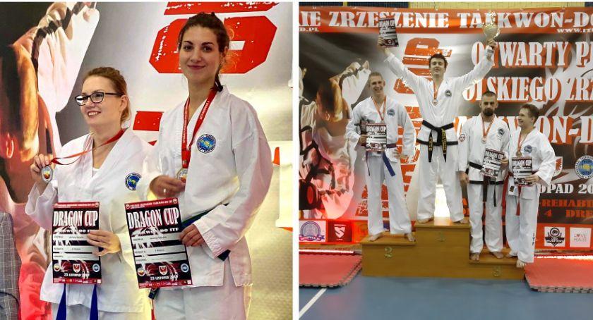 Inne Dyscypliny, Sukces trenerów Szkoły Sztuk Pucharze Polski Taekwon Dragon - zdjęcie, fotografia