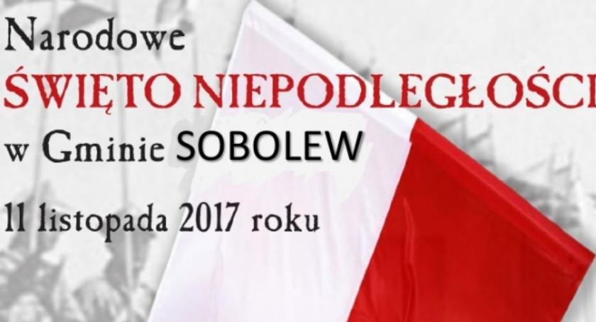 W Powiecie, Święto Niepodległości Sobolewie - zdjęcie, fotografia