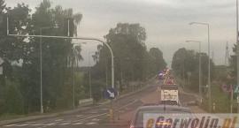 Zderzenie 4 samochodów w Gończycach: 2 kobiety w ciąży trafiły do szpitala
