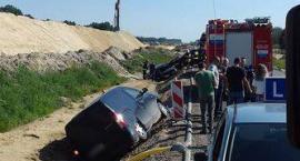 Wypadek na DK17: zderzyły się 4 samochody. 1 osoba w szpitalu