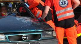 Protest ratowników w Garwolinie: