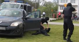Policyjna obława na DK17