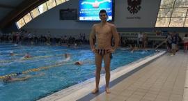 Adam Kenig potrójnym rekordzistą powiatu w pływaniu
