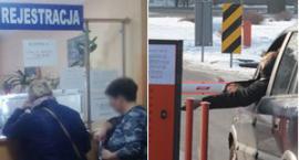 Kłopotliwa sytuacja na płatnym parkingu przy szpitalu i w rejestracji