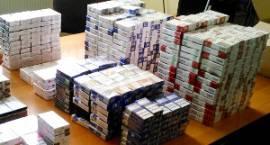 Przewoził 1000 paczek papierosów bez polskiej akcyzy