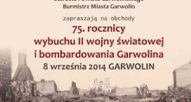 Obchody 75. rocznicy wybuchu wojny i bombardowania miasta