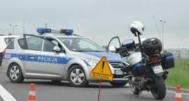 Śmiertelny wypadek w Goździku: nie żyje rowerzysta
