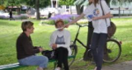 Program Dni Garwolina – akcja promująca na skwerze