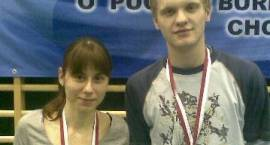 Badmintoniści na podium