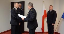 St. kpt. Tomasz Biernacki p. o. zastępcy komendanta PSP w Garwolinie