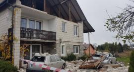 Gm. Garwolin – Miętne: Orkan Grzegorz sieje zniszczenie