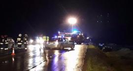 Wypadek na DK17 - W Lipówkach zderzyły się 3 auta