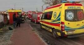 Wypadek w Lipówkach: Potrąciła pieszego, uderzyła w ogrodzenie