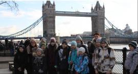 Uczniowie Publicznej Szkoły Podstawowej w Żabieńcu w Londynie