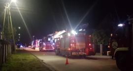 Pożar budynku mieszkalnego w Garwolinie