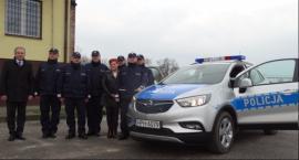 Nowy radiowóz w Komendzie Policji w Garwolinie