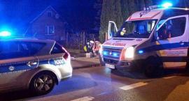 Wypadek w Damianowie – Przejechała pijanego mężczyznę