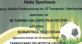 XII Turniej Piłki Halowej o Puchar Burmistrza Żelechowa
