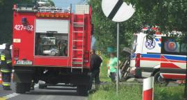Lipówki: Zderzenie motocykla z ciągnikiem rolniczym