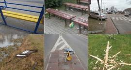 Śmiecą i niszczą mienie – wandalizm w Garwolinie!