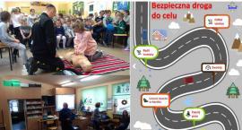 Bezpieczne Ferie 2018 – spotkanie w szkole w Starym Pilczynie