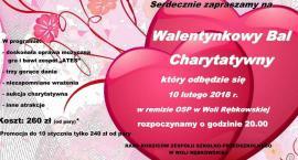 Walentynkowy Bal Charytatywny w Woli Rębkowskiej