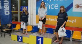 Worek medali na Mistrzostwach Mazowsza w pływaniu