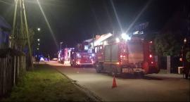 Garwolin – Pożar w bloku – policjant ewakuował część mieszkańców