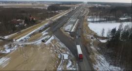Zmiana organizacji ruchu na DK17 i gotowy kilometr S17 (Video)