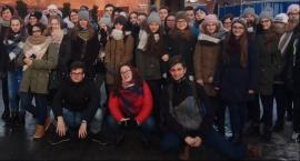 Młodzież dekanatu żelechowskiego na zjeździe KSM w Częstochowie