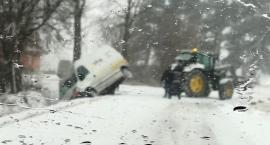 Wypadek i 25 kolizji w dwa dni! Nieposypane drogi czy prędkość i brak ostrożności?