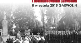 Uczczą 76. rocznicę wybuchu II wojny światowej i bombardowania Garwolina