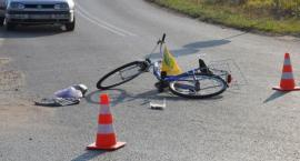 Wypadek – Garwolin – Motocyklista potrącił na pasach pijaną kobietę