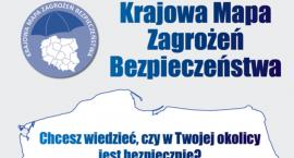 1000 zdarzeń na Krajowej Mapie Zagrożeń Bezpieczeństwa w powiecie garwolińskim