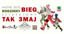 Rodzinny bieg na 3 maja w Miętnem