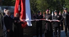 Strażacy świętowali dzień swojego patrona i odsłonili jego pomnik