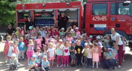 Strażacy OSP Wilga z wizytą w przedszkolu