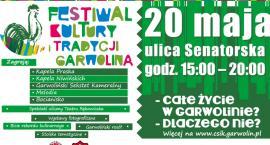 Festiwal Kultury i Tradycji Garwolina już w niedzielę