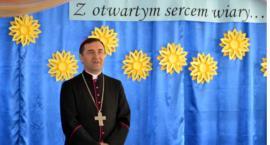 Biskup Piotr Sawczuk odwiedził Borowie i Puznówkę