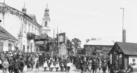 Uroczystości Bożego Ciała w Garwolinie w 1934 roku