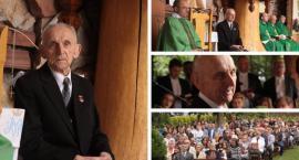 Józef Siarkiewicz skończył 92 lata. Swój jubileusz obchodził w Górkach