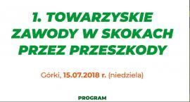 Pierwsze towarzyskie Zawody w Skokach przez Przeszkody w Górkach