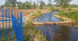 Prowizoryczna tama przy zbiorniku w Garwolinie – Po co powstała?