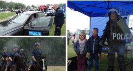 Policjanci na zawodach w Górkach