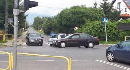 Garwolin – Kolizja trzech samochodów na skrzyżowaniu