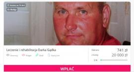 Zrzutka na leczenie i rehabilitację Darka Gądka