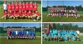Młodzi piłkarze GKS Wilga Garwolin trenują w Mrągowie