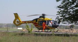 Wypadek w gm. Żelechów - potrącony mężczyzna zmarł w szpitalu