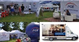 Przystanek PGE w Garwolinie - Mobilna strefa informacyjna na Zarzeczu