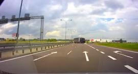 Kierowca jadący obwodnicą pod prąd ukarany